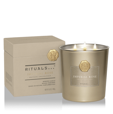 Rituals XL Imperial Rose Scented Candle